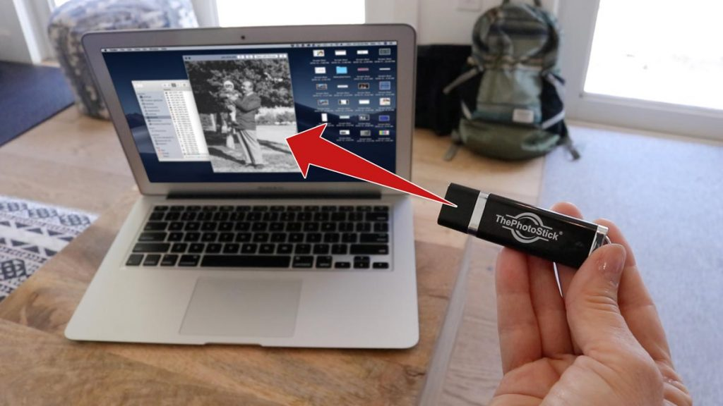 Which kind of files will the Photo stick actually find?