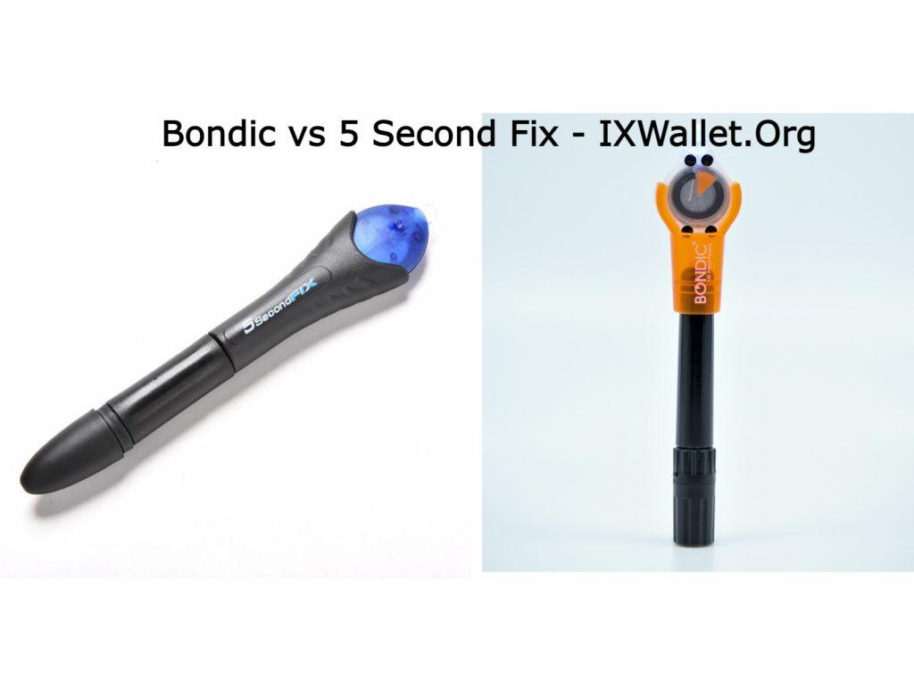 Bondic vs 5 Second Fix - Complete Comparison