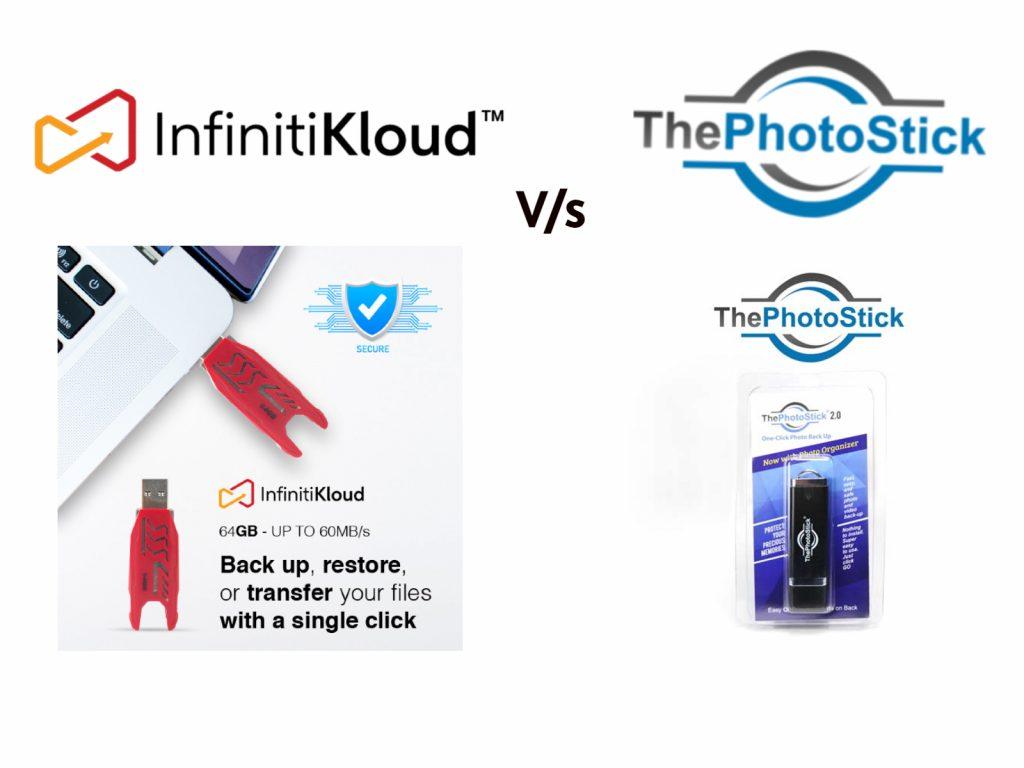 An image depicting InfinitiKloud vs Photo Stick