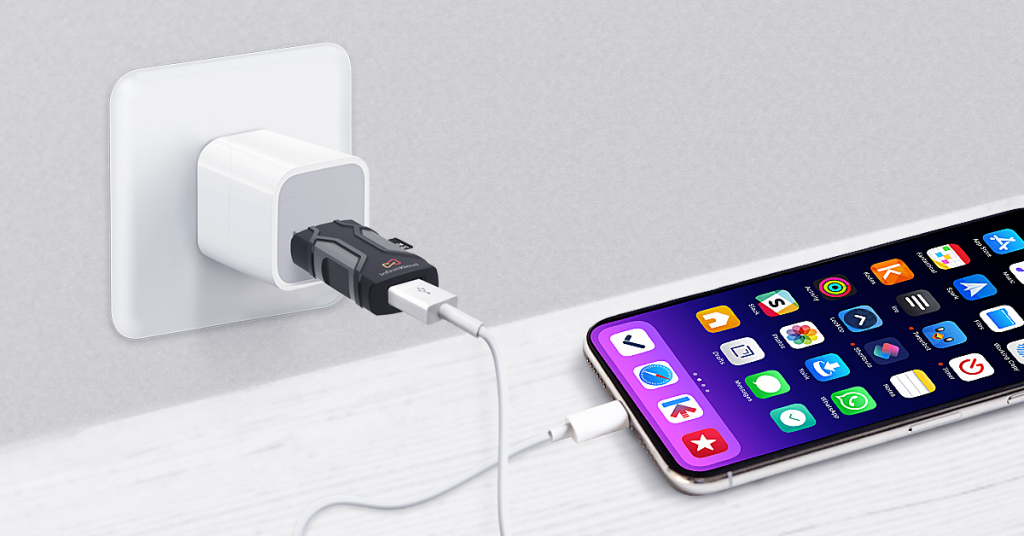 Infinitikloud used for iPhone charging