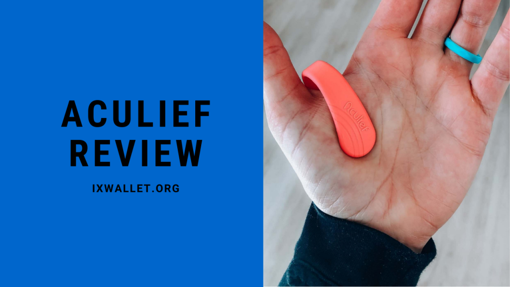 Aculief Review - Wearable Acupressure Device