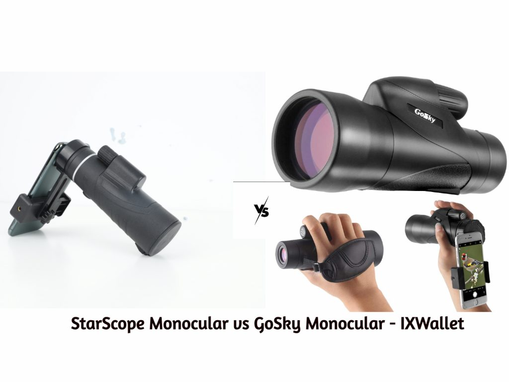 An image with difference between StarScope Monocular vs Gosky