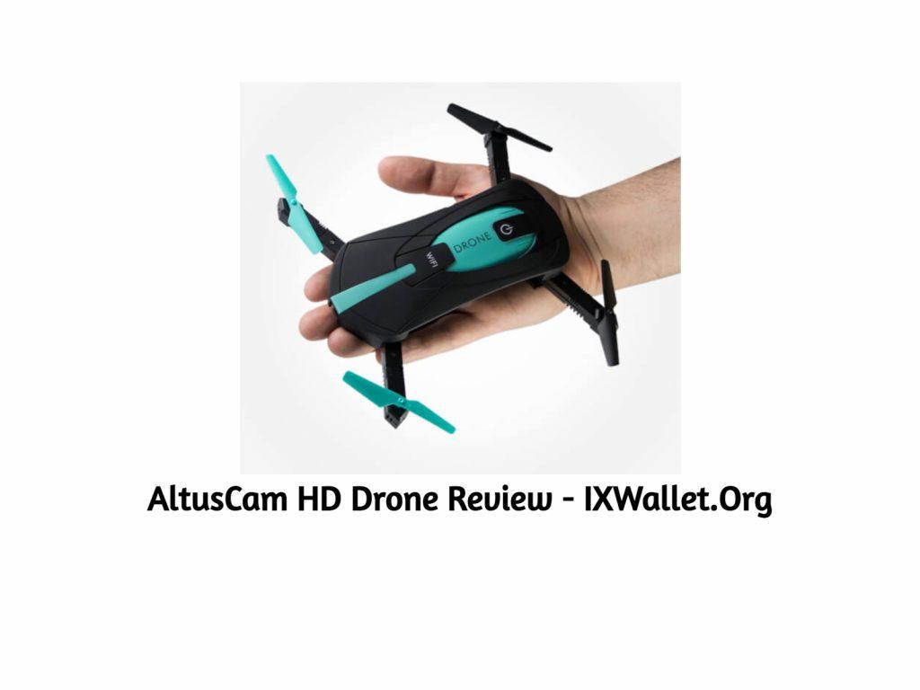 AltusCam HD Drone Review