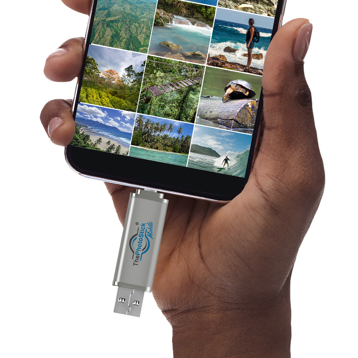 Photo stick Mobile used on Android Device