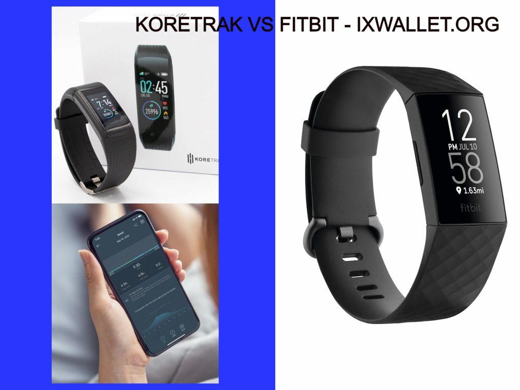 Koretrak Vs FitBit - Full Comparison at IXWALLET.ORG