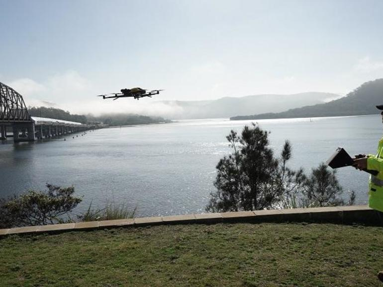 Drones being used to speed up flood recovery in NSW